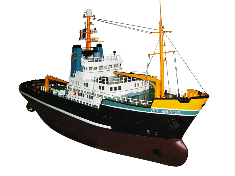 Tug Boat Smit Houston(A) Hull w/ Canopy - L60001A - Fuyuan R